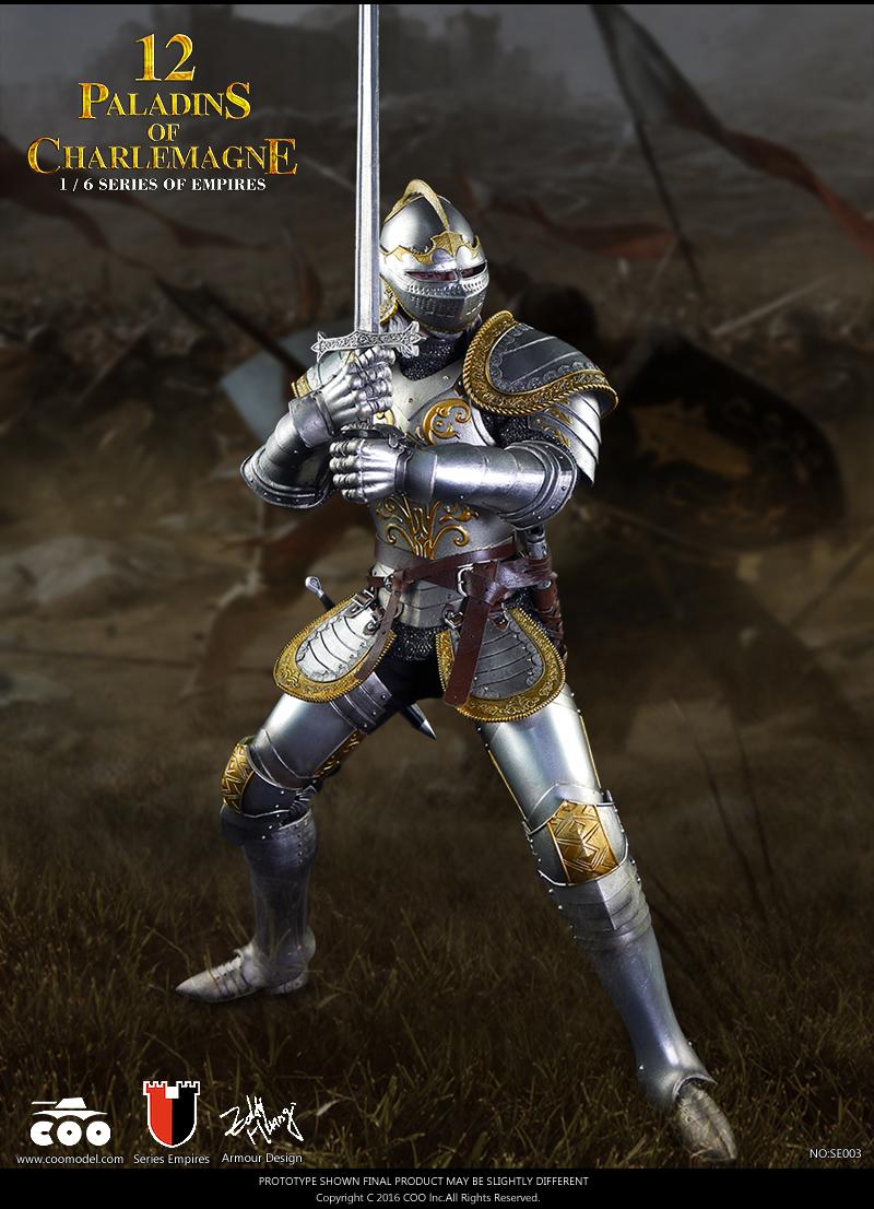 vambraces 1//6 Scale COOMODEL SE003 12 Paladins of Charlemagne